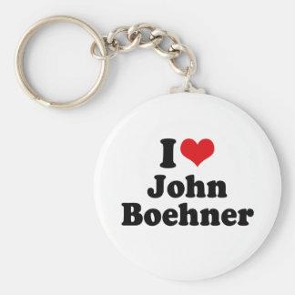 I LOVE JOHN BOEHNER KEYCHAINS