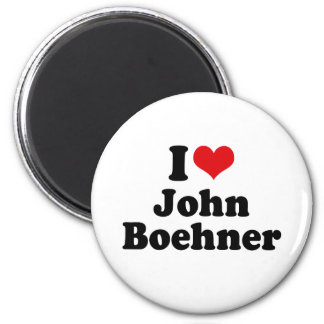 I LOVE JOHN BOEHNER FRIDGE MAGNET