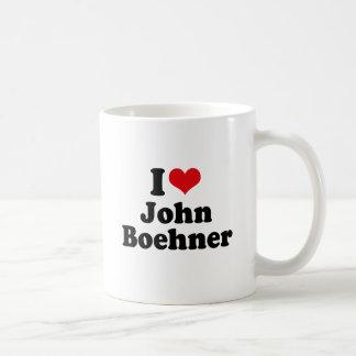 I LOVE JOHN BOEHNER COFFEE MUGS