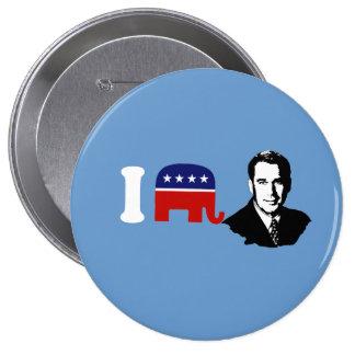 I Love John Boehner Pinback Button