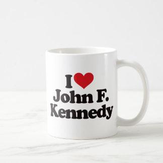 I Love John F Kennedy Coffee Mug