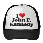 I Love John F Kennedy Hat
