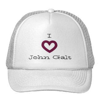 I Love John Galt Trucker Hat