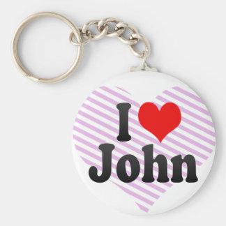 I love John Key Chains