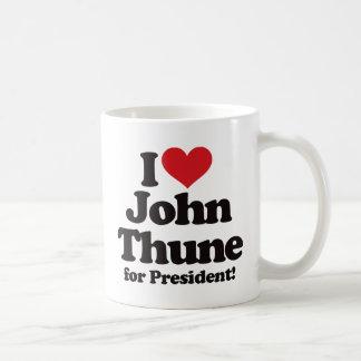 I Love John Thune for President Coffee Mug