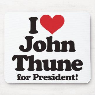 I Love John Thune for President Mouse Pad
