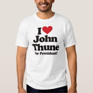 I Love John Thune for President Shirt