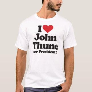 I Love John Thune for President T-Shirt