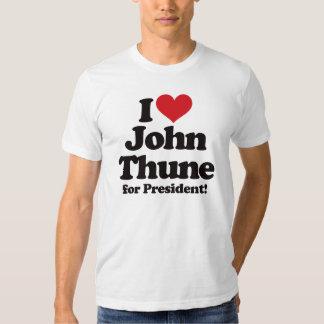 I Love John Thune for President Tee Shirt