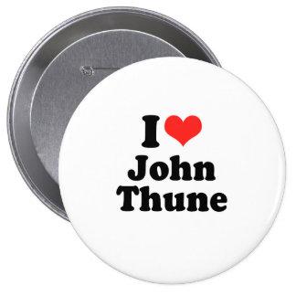 I Love John Thune Pinback Button