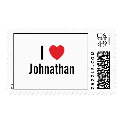 I love Johnathan Stamps
