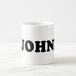 I LOVE JOHNNY COFFEE MUG