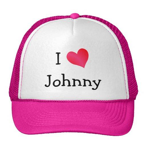I Love Johnny Hats