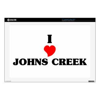 """I love Johns Creek Skins For 17"""" Laptops"""