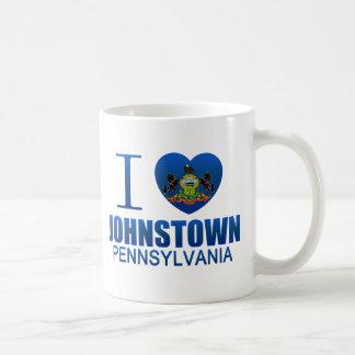 I Love Johnstown, PA Classic White Coffee Mug