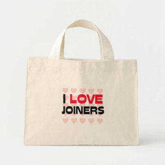I LOVE JOINERS CANVAS BAGS