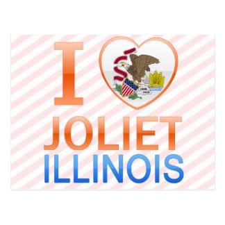 I Love Joliet, IL Postcard