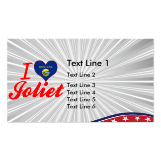 I Love Joliet, Montana Double-Sided Standard Business Cards (Pack Of 100)