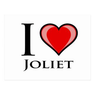 I Love Joliet Postcard