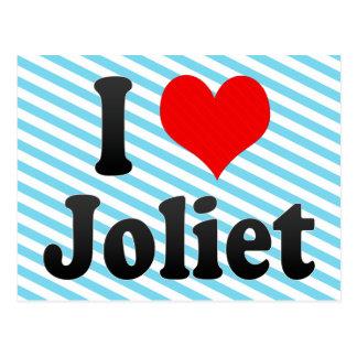 I Love Joliet, United States Postcard