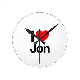 i love jon clock