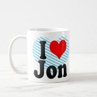 I love Jon Coffee Mug