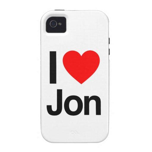 i love jon iPhone 4/4S cover