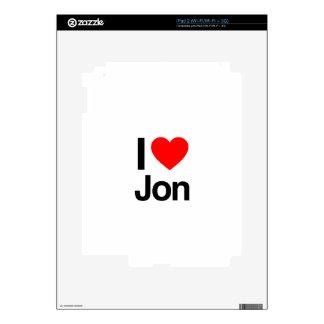 i love jon skin for the iPad 2
