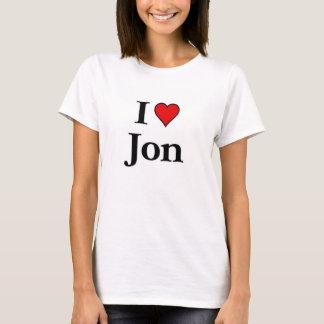 I  love Jon T-Shirt