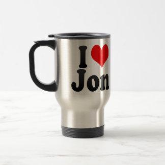 I love Jon Travel Mug