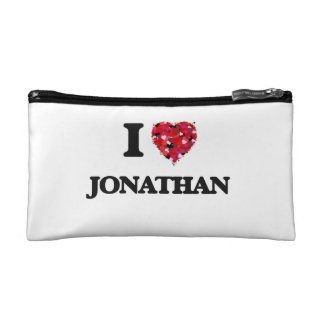 I Love Jonathan Cosmetic Bags