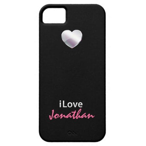I Love Jonathan iPhone 5 Case