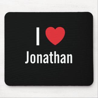I love Jonathan Mouse Mats