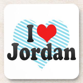 I love Jordan Beverage Coasters