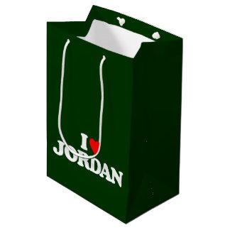 I LOVE JORDAN MEDIUM GIFT BAG