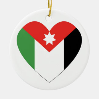 I Love Jordan Christmas Tree Ornaments