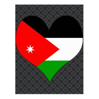 I Love Jordan Post Card