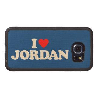 I LOVE JORDAN WOOD PHONE CASE