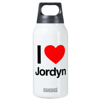 i love jordyn 10 oz insulated SIGG thermos water bottle