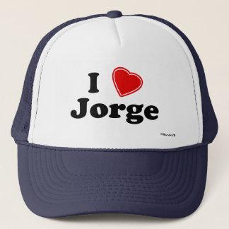 I Love Jorge Trucker Hat