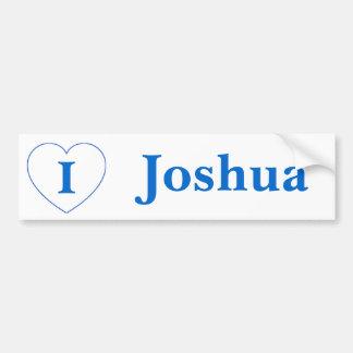 I Love Joshua (BpS) Bumper Sticker