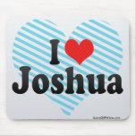 I Love Joshua Mouse Pad