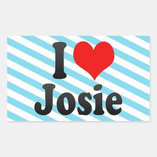I love Josie Sticker