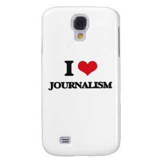 I Love Journalism Samsung Galaxy S4 Cover