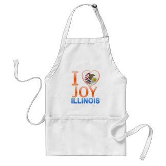 I Love Joy, IL Adult Apron
