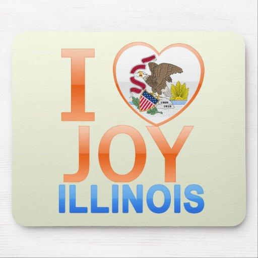 I Love Joy, IL Mouse Pad