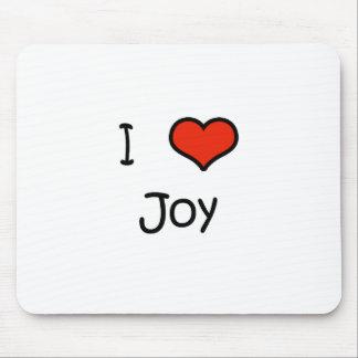I Love Joy Mouse Pad