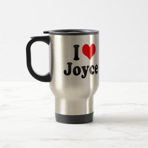 I love Joyce 15 Oz Stainless Steel Travel Mug