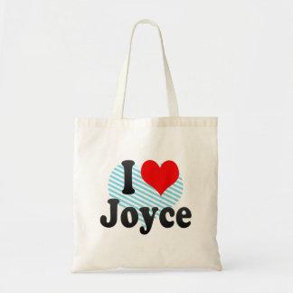I love Joyce Tote Bag