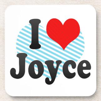 I love Joyce Coaster